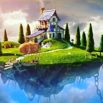 cara mendapatkan rumah mewah di surga - vita noviana